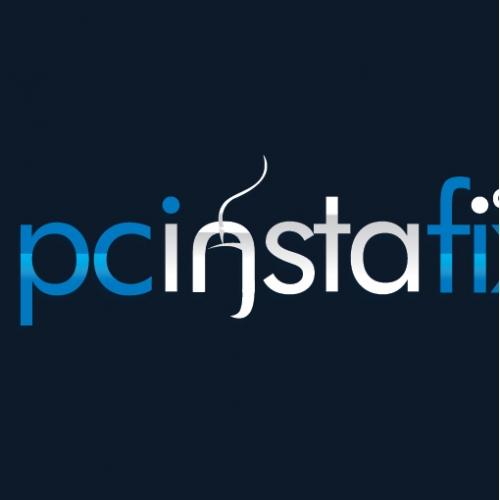 Selected Logo For  www.pcinstafix.com
